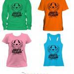 Camisetas Ladridos Vagabundos: DONATIVO:  manga corta y tirantes: 12€ + envío.       Sudaderas: 18€ + envío